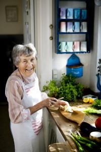 Ester i køkken
